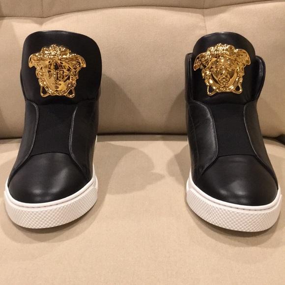 Versace Other - Hi-Top Palazzo Medusa Head Shoes 🥶